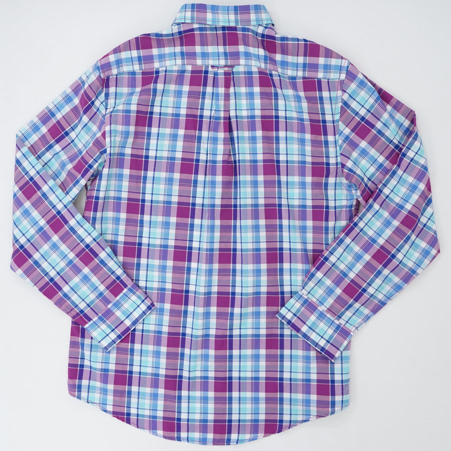 Plaid Button Up Size M
