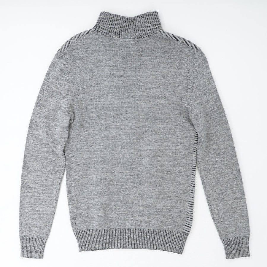 Heather Gray Quarter Zip Pullover Size XS