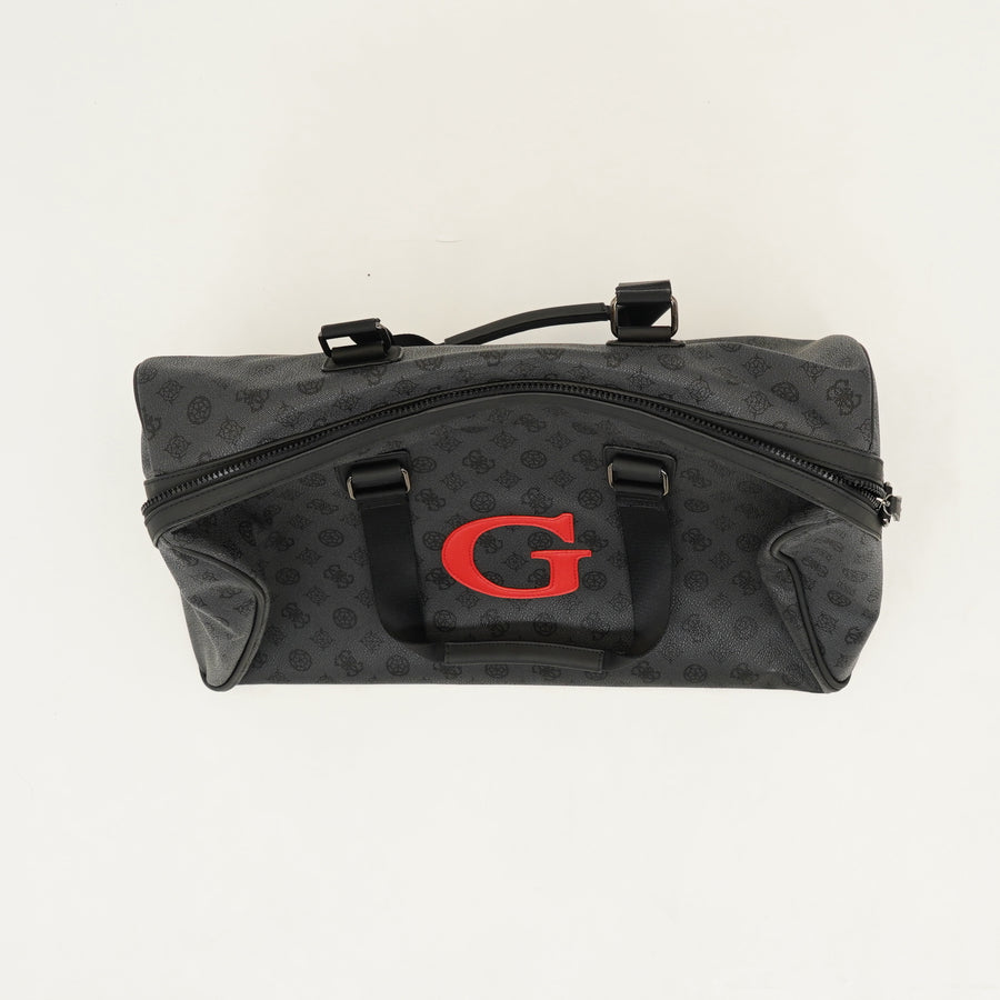 Small Pleather Logo Duffel-Bag