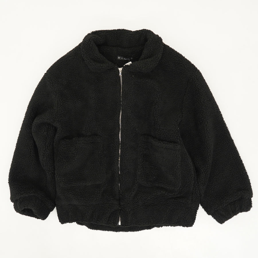 Full Zip Teddy Jacket - Size S, M
