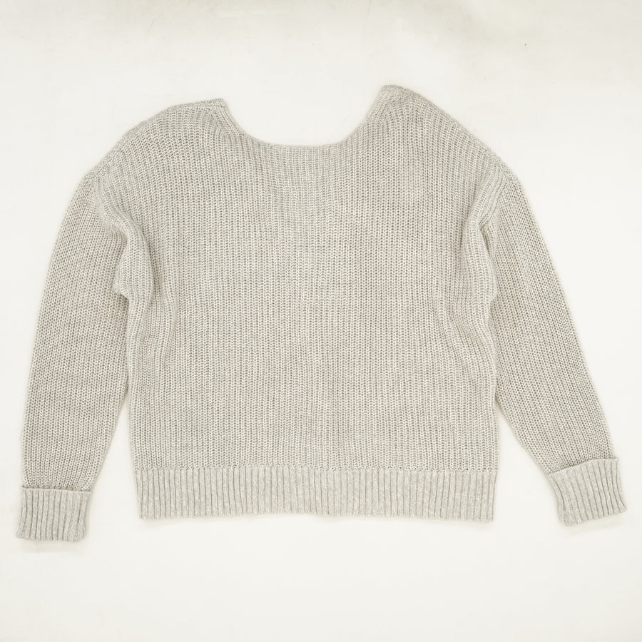 Back Detail Pullover Sweater - Size L