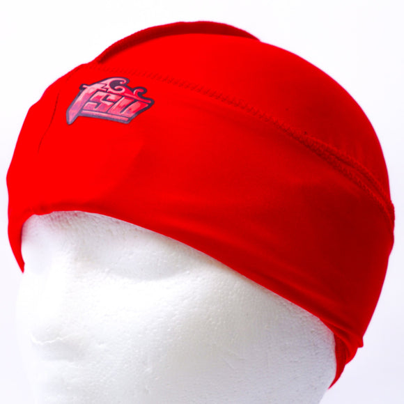 All Purpose Stringless Durag Red