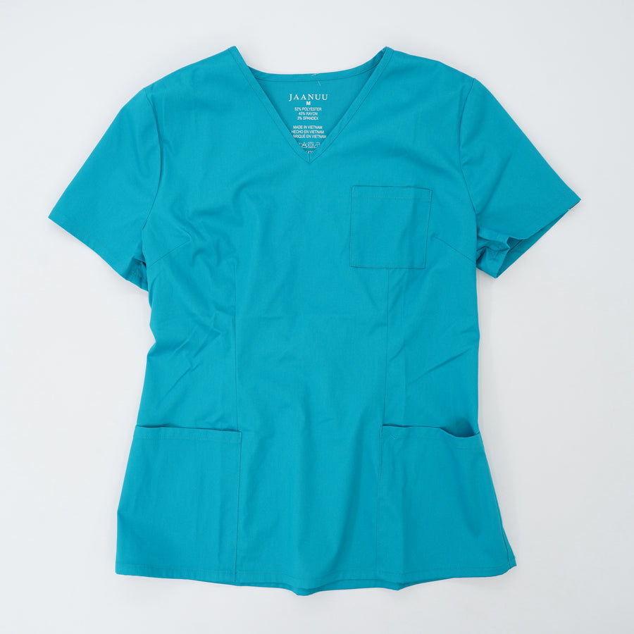 Blue Uniform Top Size M