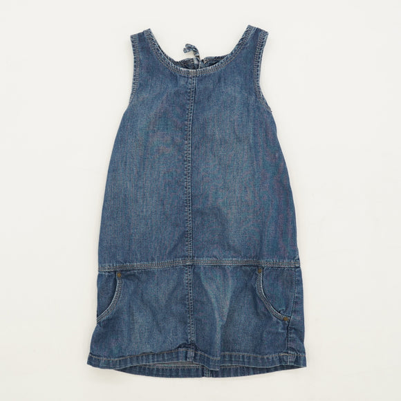 Sleeveless Denim Dress Size 4