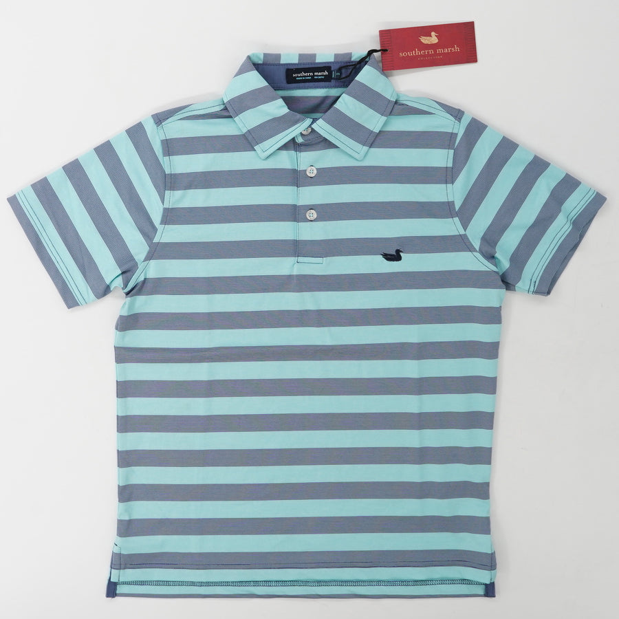 Youth Bermuda Performance Polo Size M