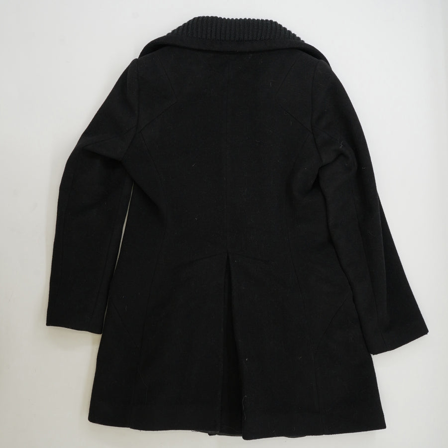 Double Breasted Mid Length Coat Size 6