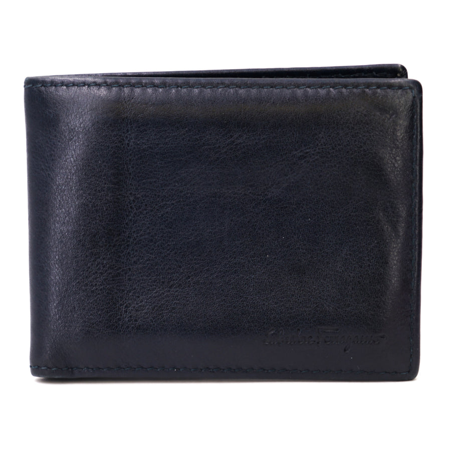 Smooth Leather Bi-fold Wallet