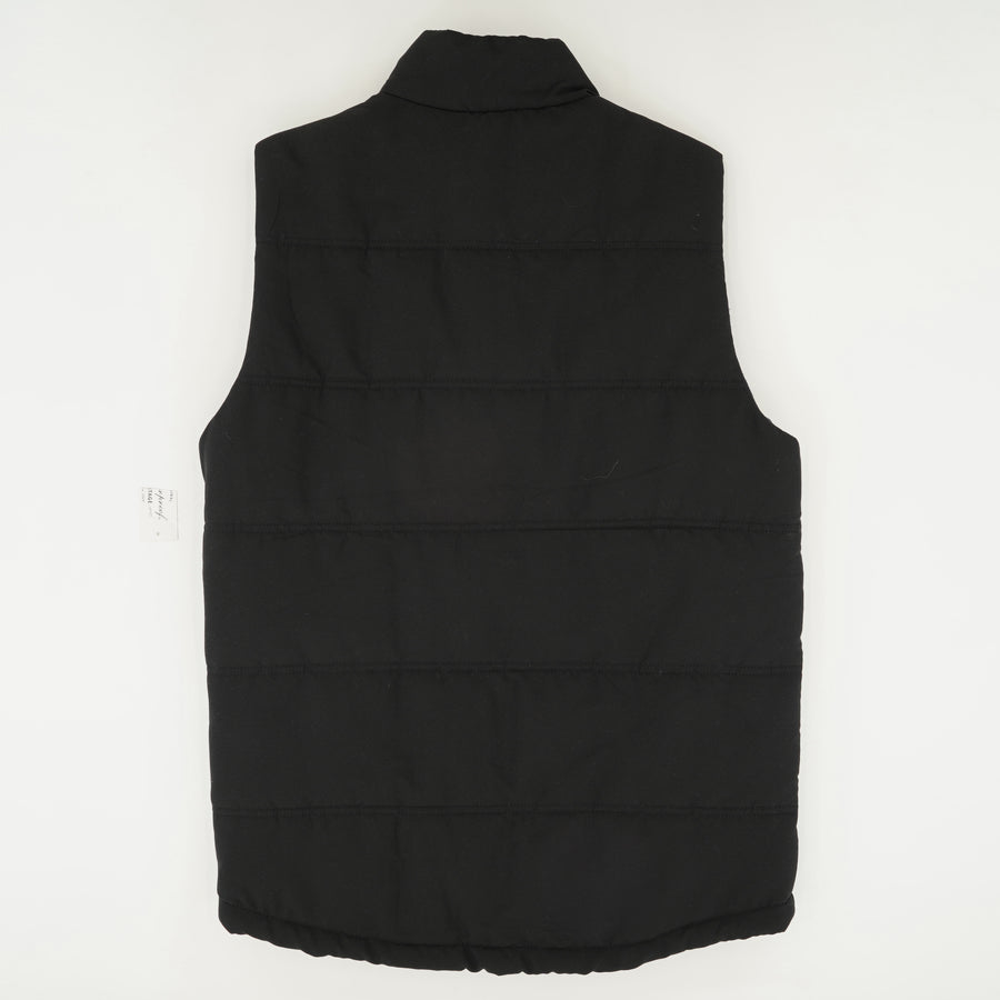 Quilted Outerwear Vest Size