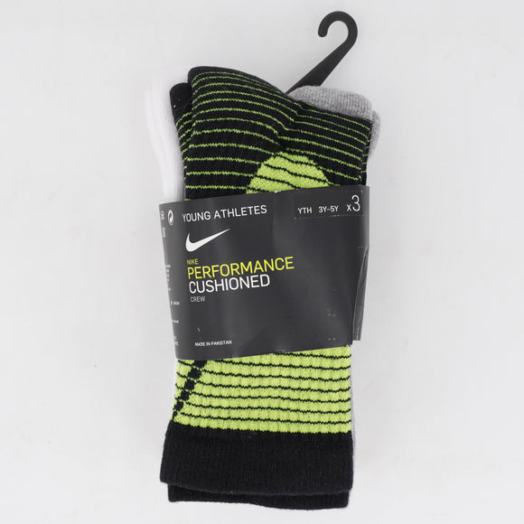 3 Pack Performance Cushioned Socks