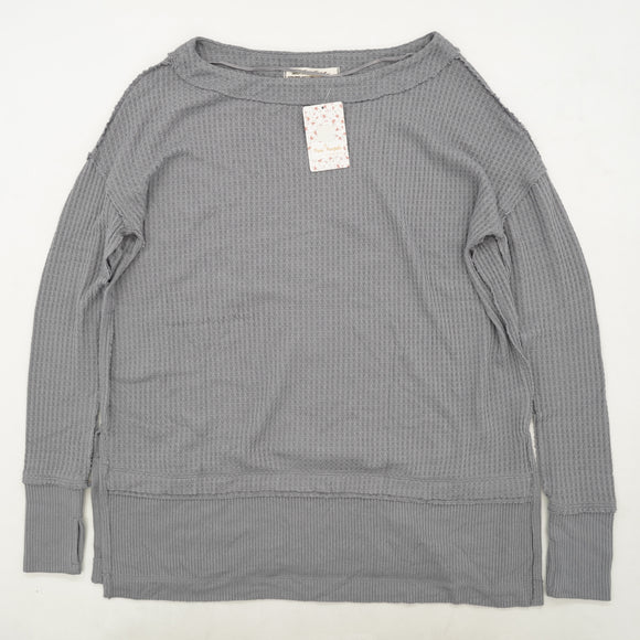 Storm Gray Tunic Sweater Size XS