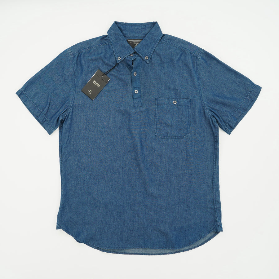 Short Sleeve Pocket Polo Size M