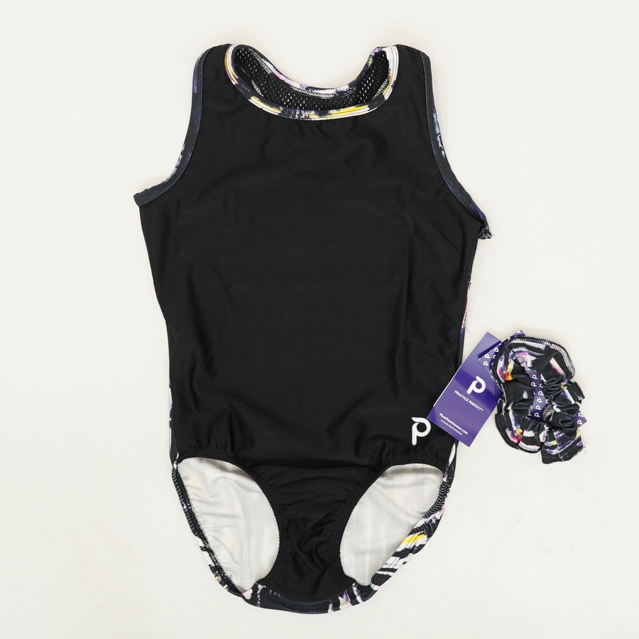 Adult Leotard and Scrunchie Size M