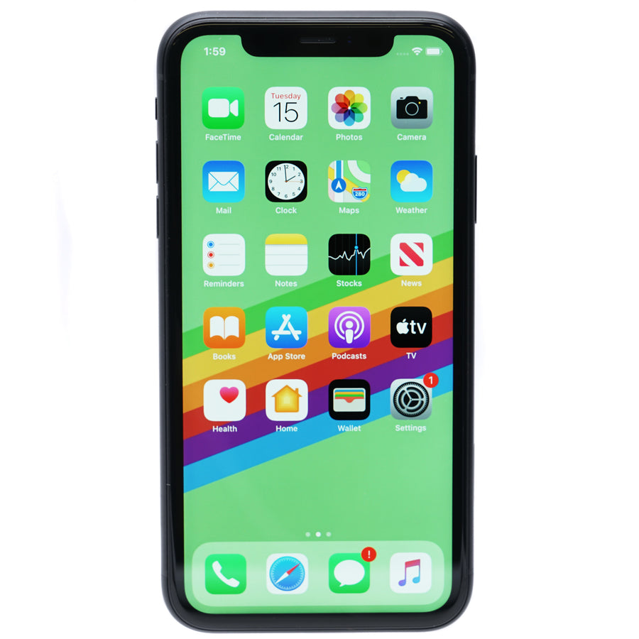 iPhone XR Carrier Unlocked 64GB Black