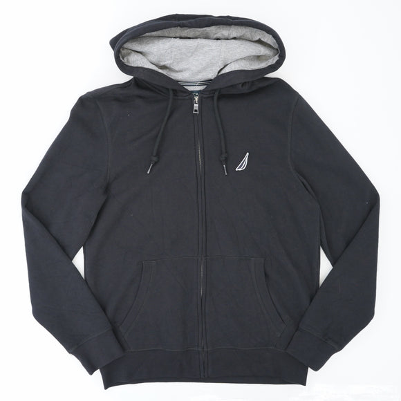 Light Zip-Up Hooded Jacket Size S