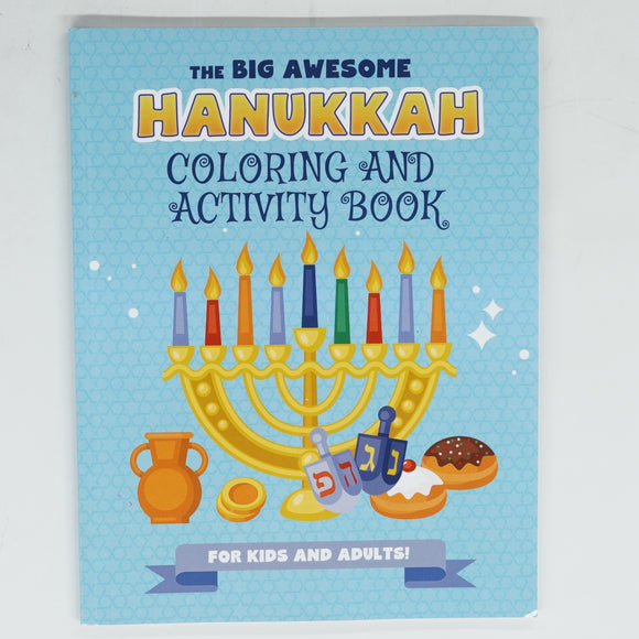The Big Awesome Coloring Activity Book
