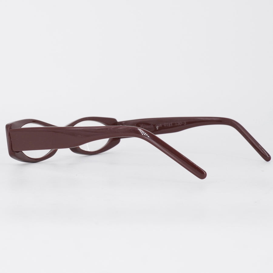 Gigi 130-3 Brown Reading Glasses Size M