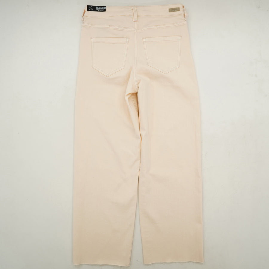 "Stevie Stovepipe 26"" Dawn Pink Jeans - Size 8, 10"