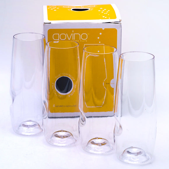 Go Anywhere Champagne Flute 8 OZ Pack of 4