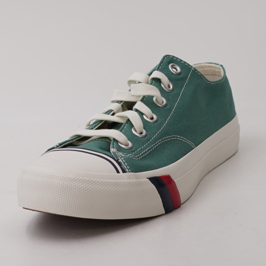 Green Deep Sea Royal Lo Canvas Sneakers Size 9