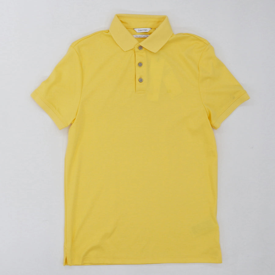 Yellow The Liquid Touch Polo - Size XS, M
