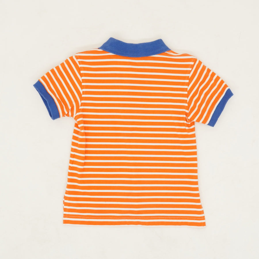 Striped Polo Size 2T