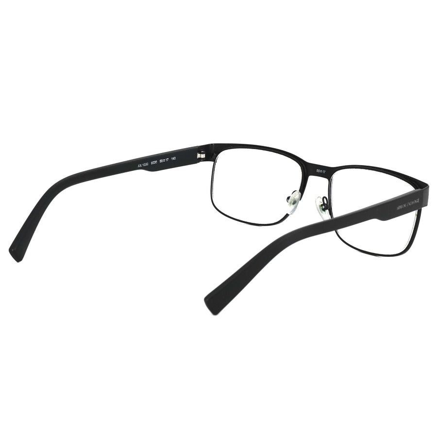 Black Square Prescription Eyeglasses