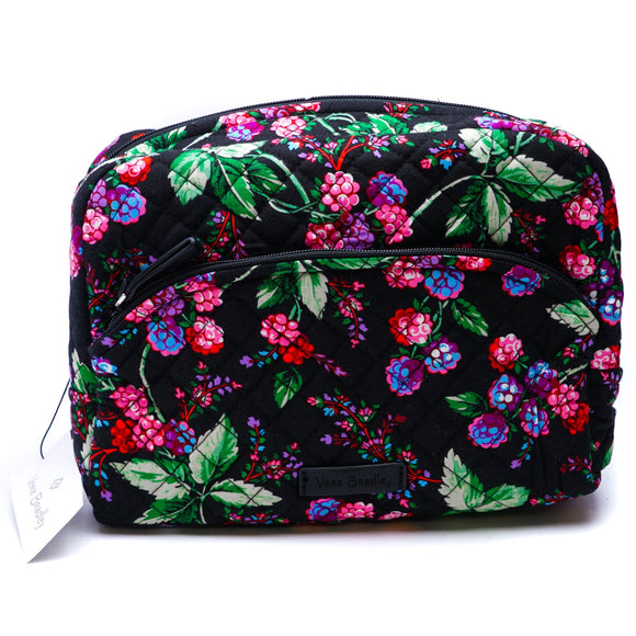 Large Cosmetic Bag In Winter Berry