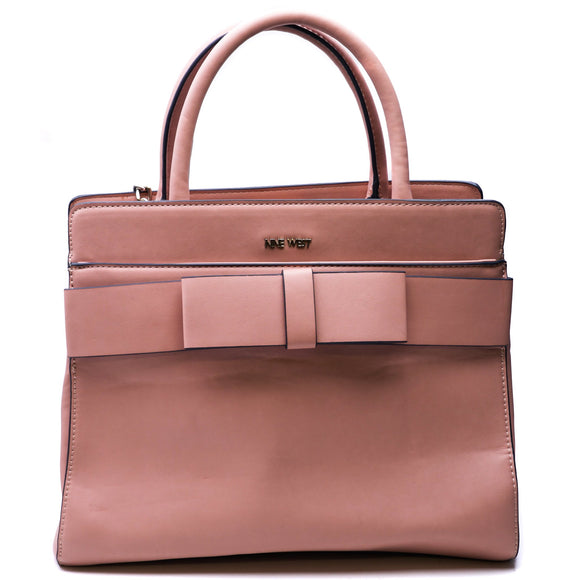 Pink Bow Satchel