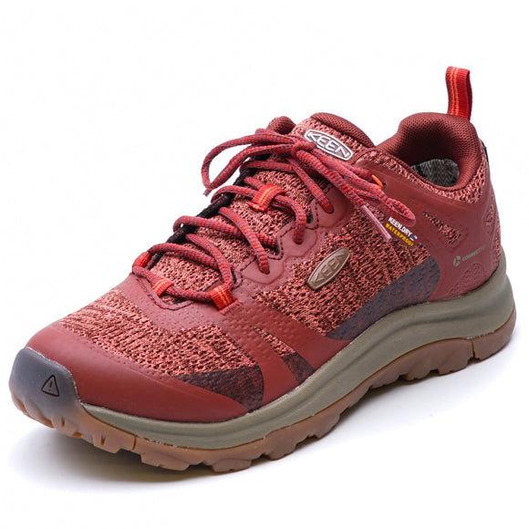 Terradora II Waterproof Low Hiking Shoes Cherry Mahogany/Coral
