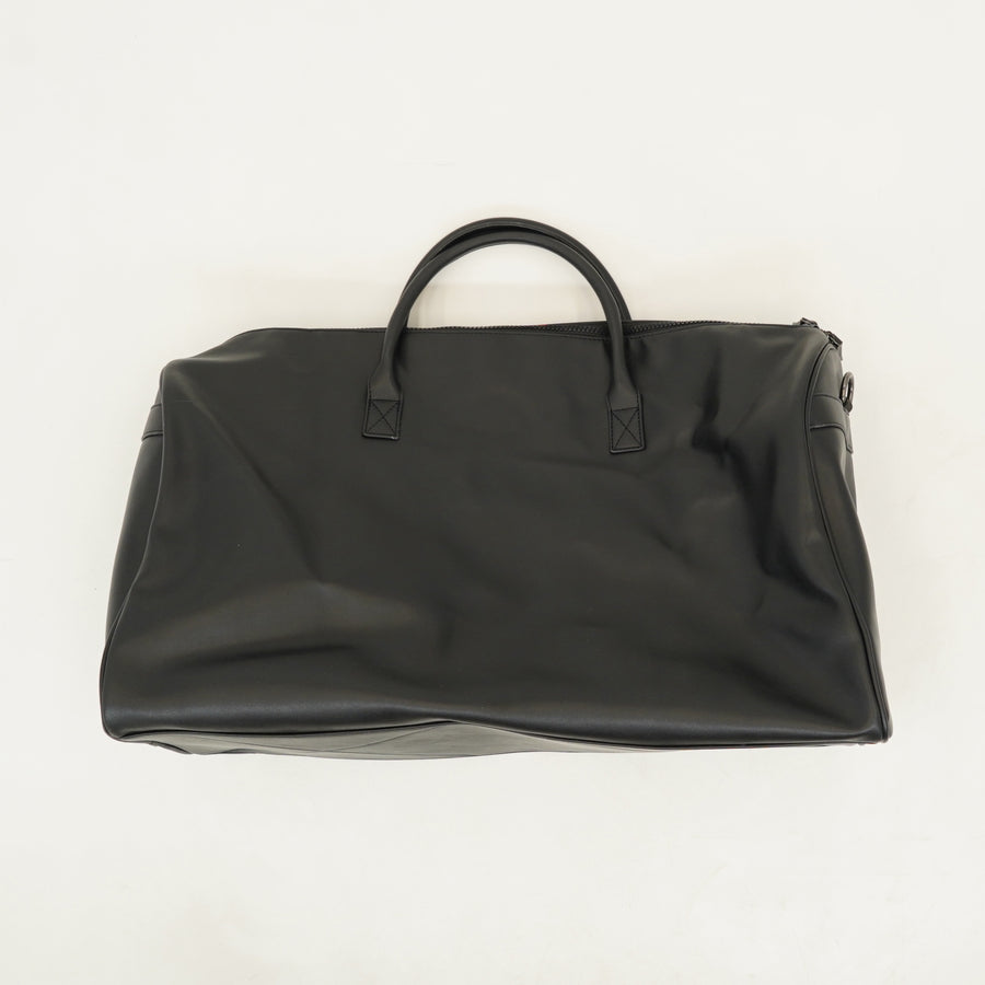 Small Detailed Pleather Duffel-Bag