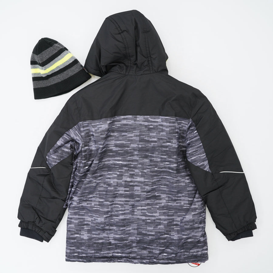 Fleece Lined Ski Jacket - Size S