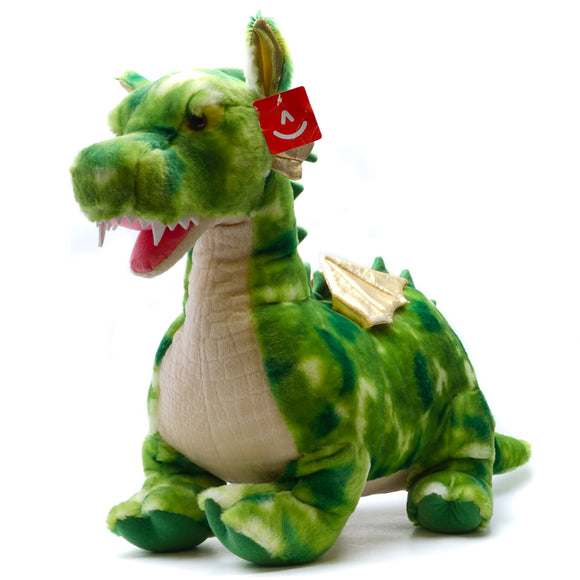 "26"" Plush Green Dragon"