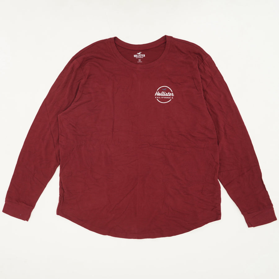 Red Soft Feel Long Sleeve Size XL