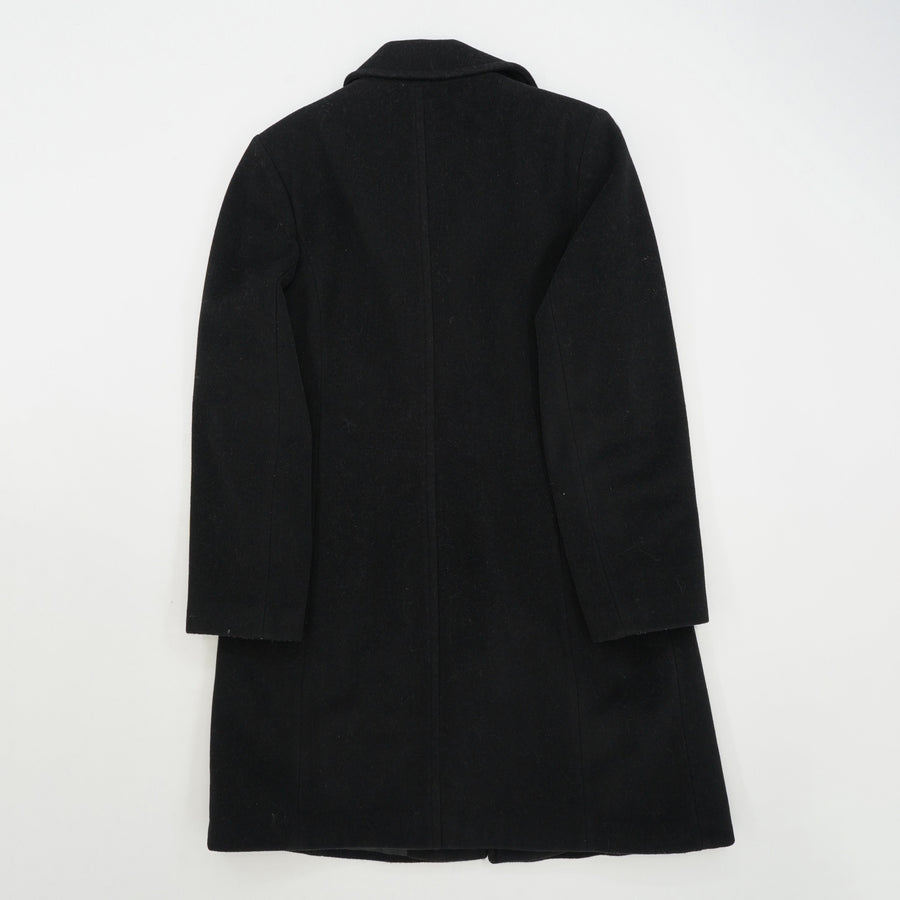 Wool Blend Mid Length Coat Size 12