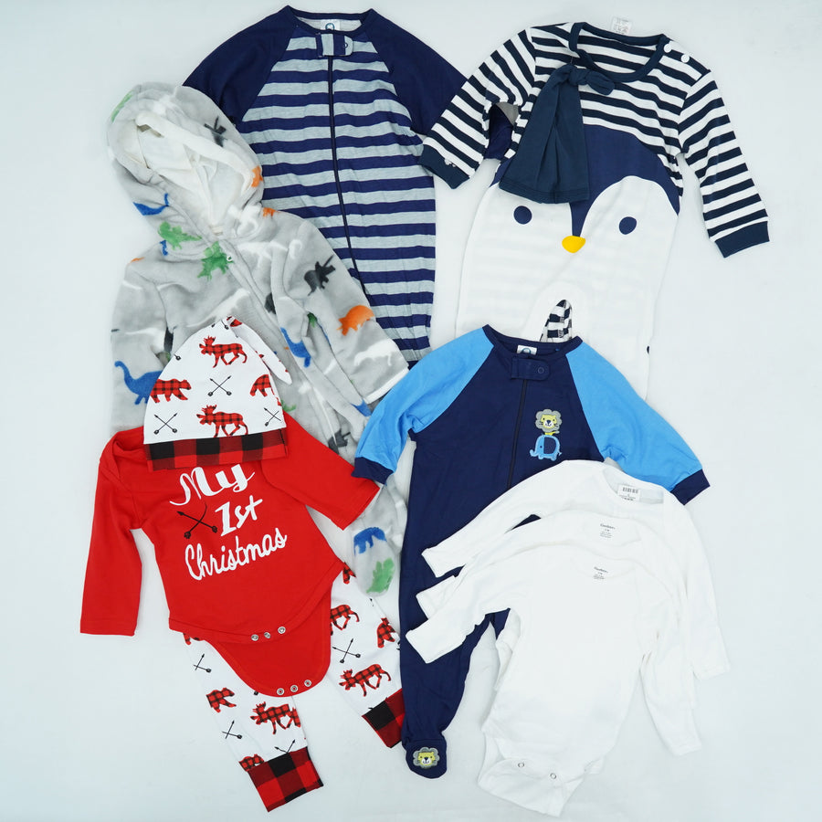 Boys' Assorted Brands Clothing Bundle Size 0-3M