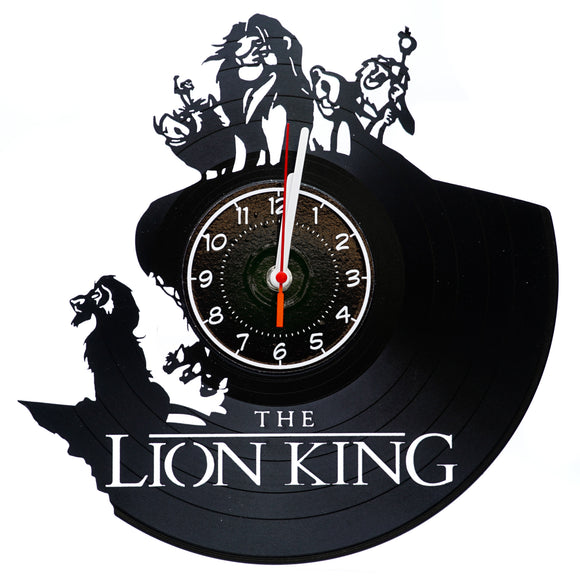 Lion King Vinyl Record Wall Clock