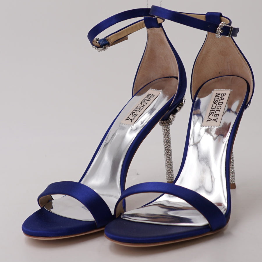 Vicia Ankle Strap Evening Shoe Size 7.5