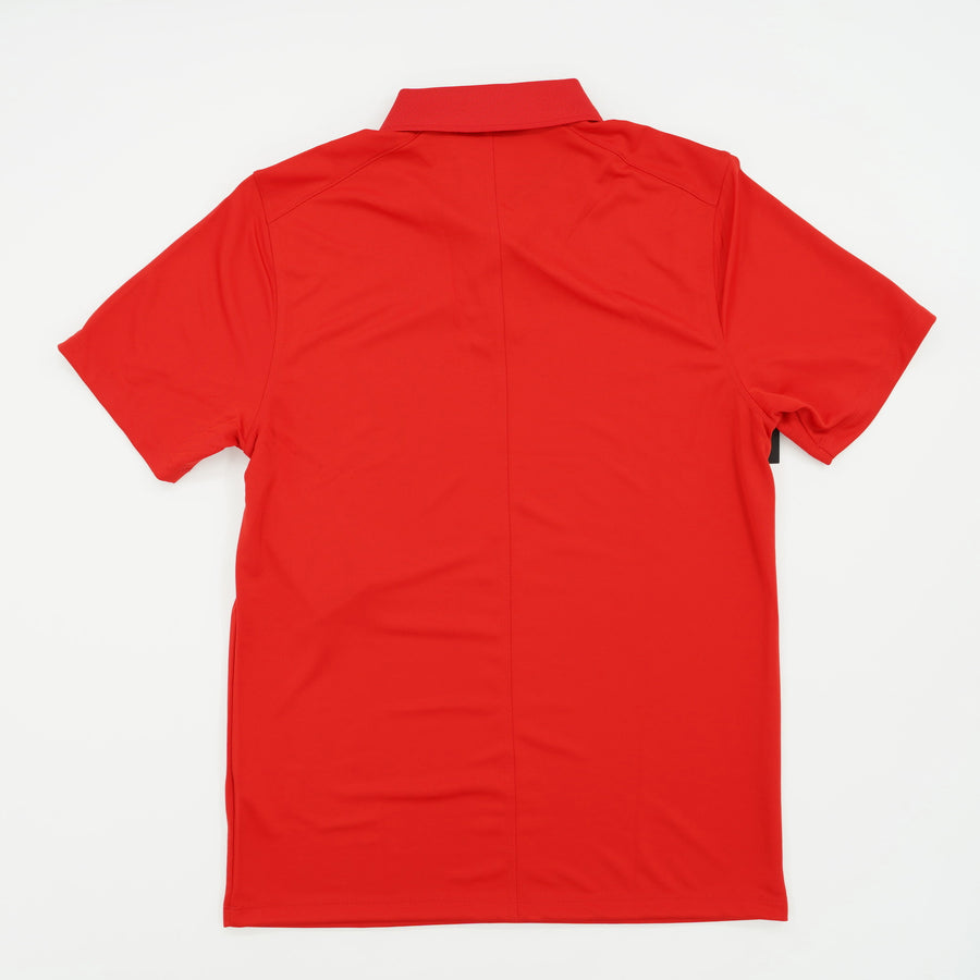 Casual Solid Short Sleeve Polo Size S