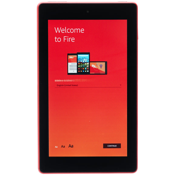 Kindle Fire 7 (7th Gen.) 8GB Punch Red
