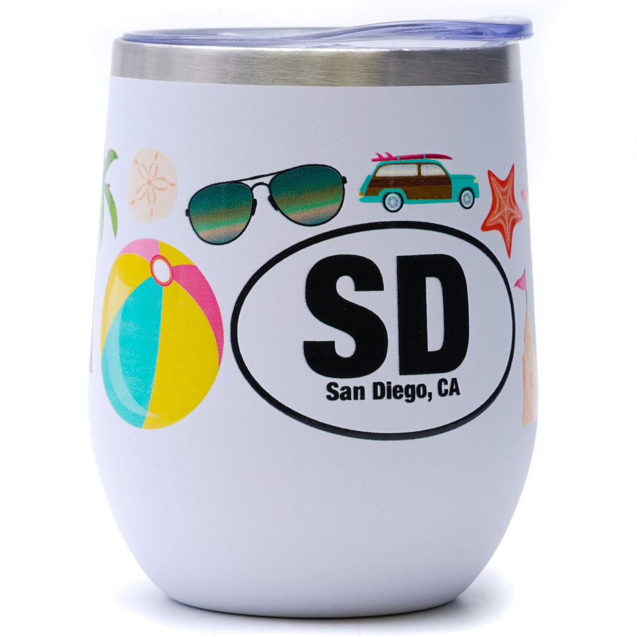 San Diego, CA Insulated Tumbler