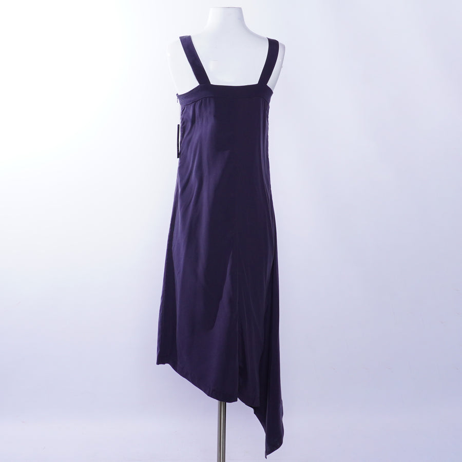 City Slicker Asymmetric Square Neck Dress - Size XS