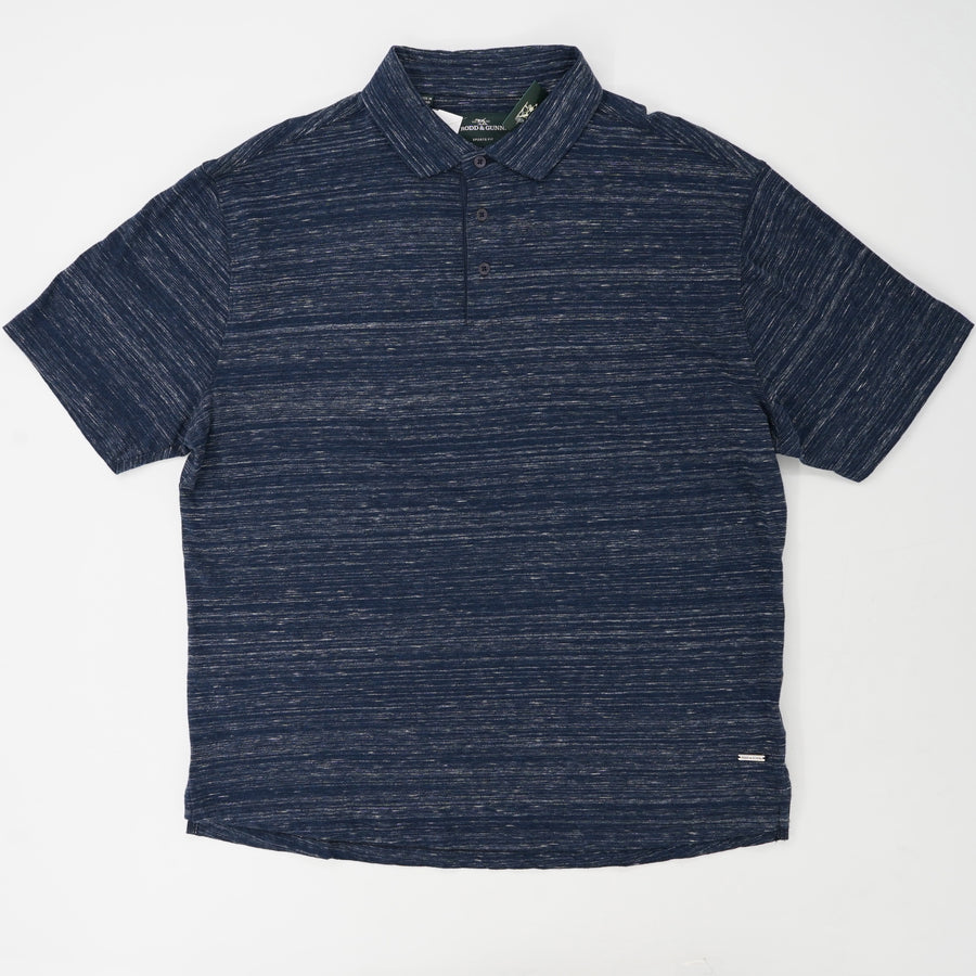 Heathered Polo Size 2XL