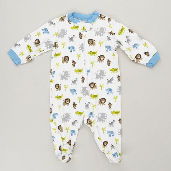 Multi Animal One Piece Size 0-3M