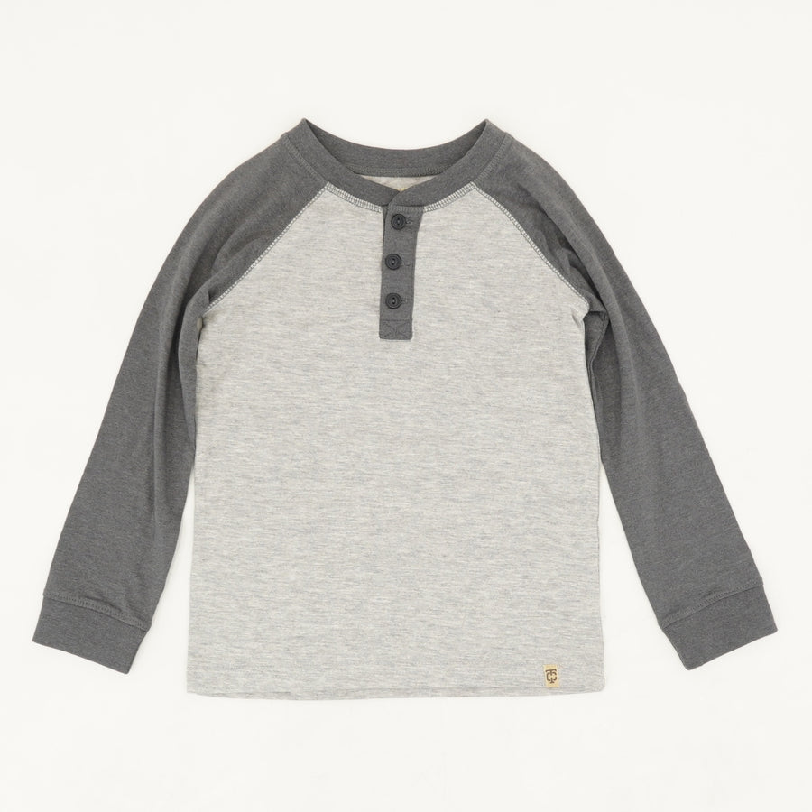 Gray Long Sleeve Tee Size 4