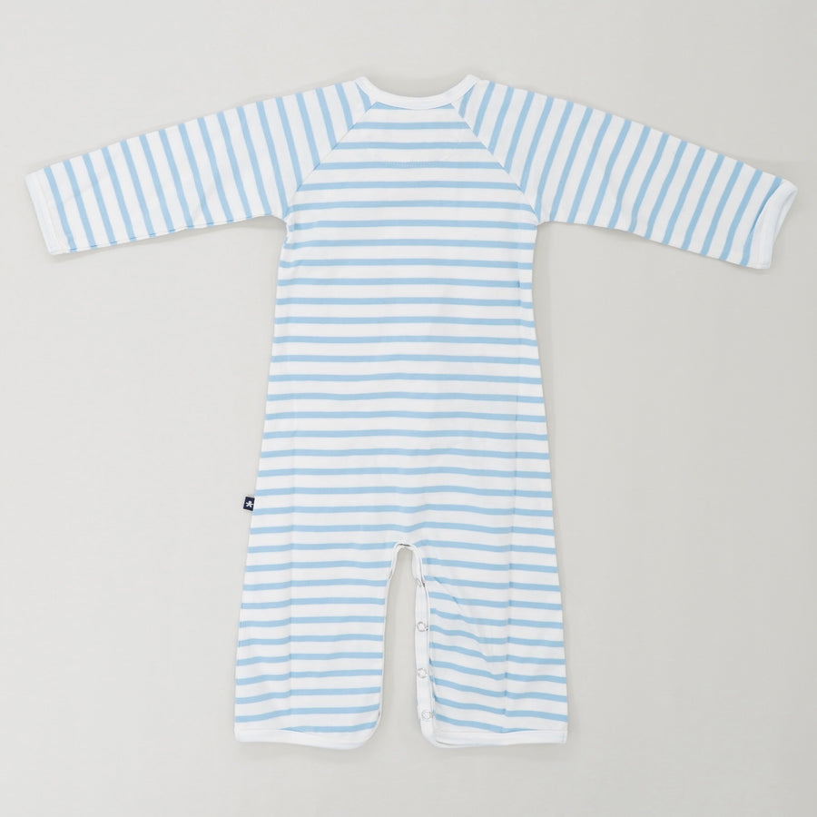 Striped Jumpsuit Size 6-12 Months
