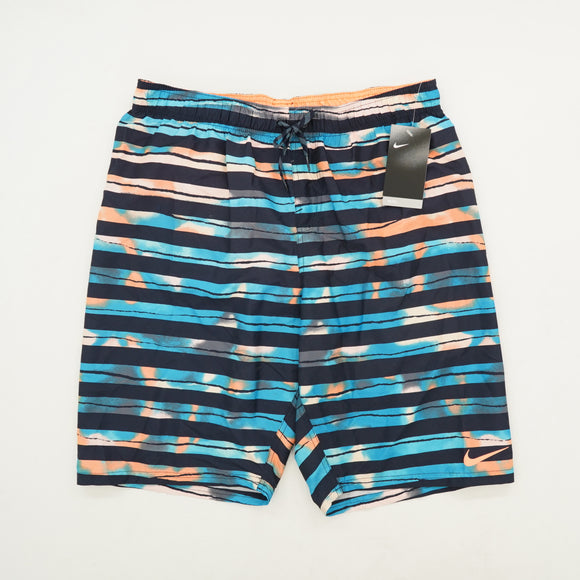 Block Stripe Swim Shorts