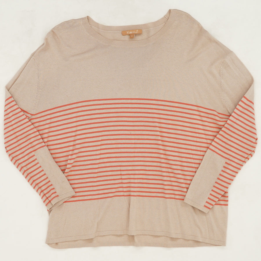 Round Neck Pullover Sweater Size S