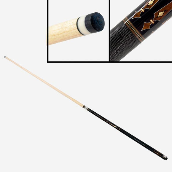 Carom Lizard Leather Embossed Pool Cue