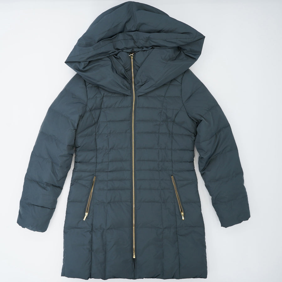 Zip Front Down Jacket Size S