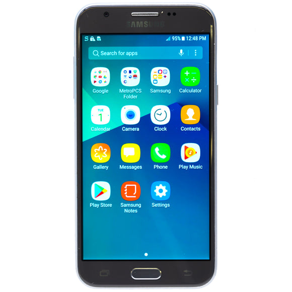 Galaxy J3 Emerge 16GB Smartphone For Metro PCS Silver